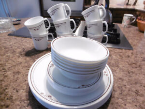 2 SETS OF CORELLE DISHES