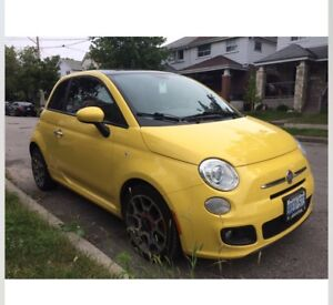 2012 Fiat Sport yellow for sale