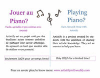 Cours de piano/ music classes (20$/h)