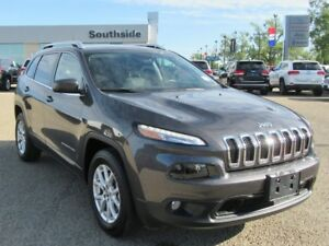 2016 Jeep Cherokee LATITUDE 4X4 w/ V6, PWR LIFTGATE, COLD WEATHE