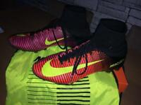 Pair of Nike Mercurial Superflys Size 10 Football Boots