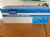 Compatible Laser Toner Cartridge for Samsung Printer CYAN