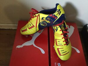 Puma PowerCat 3 Graphic Rugby H8 Boot - Size 9