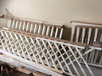 Stair case parts