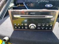 Mondeo Sony CD player