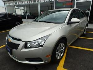 2014 Chevrolet Cruze BLUETOOTH NO ACCIDENTS 1-OWNER ONTARIO CAR