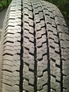 One Used Tire, Michelin-Radial,  P 215/75 R15, All Season.