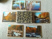 Set of 6 boxed placemats
