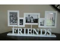 Photo frame friends. Unused