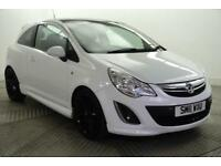 2011 Vauxhall Corsa LIMITED EDITION Petrol white Manual