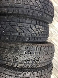 4 brand new winter tires, size 13