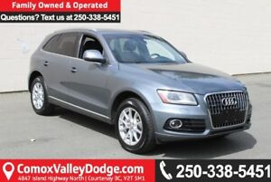 2014 Audi Q5 TDI Progressiv ONE OWNER, ACCIDENT FREE, LOW KM,...