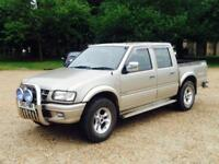 ISUZU 3.1TD PICKUP 2002(51)REG**METALLIC GOLD*4x4*LOW MILES**RARE TRUCK**