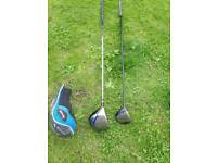 Left hand driver and 3 wood