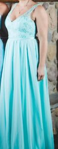 Tiffany Blue Bridesmaids Dress