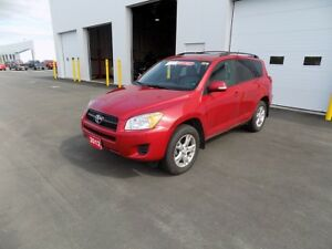 2012 Toyota RAV4 4WD - UPGRADE PACKAGE
