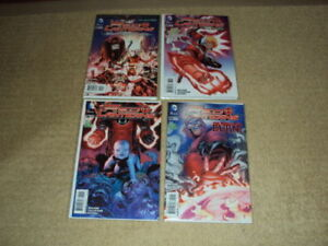 RED LANTERNS #20, 38, 39, 40, DC COMICS, FIRST PRINT, NEAR MINT