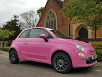 Fiat 500 1.2I POP C / *** Pretty In PINK *** We Have A Choice Of 20 Fiat 500