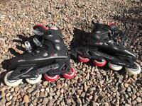 Misty II rollerblades fit size 4-5 very very good condition