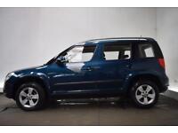 SKODA YETI 2.0 S TDI CR 4X4 5d 109 BHP (blue) 2012