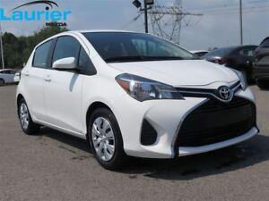 2015 Toyota Yaris LE A/C 49.22$/sem.tx.incl.*0 dépô