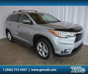 2016 Toyota Highlander LIMITED/AWD/NAV/LEATHER/PANORAMIC ROOF/CA