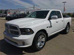 2017 RAM 1500 SPORT QUAD CAB WITH 11000.00 OFF = 43500.00