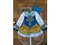 Stunning Irish dancing dress for 9-12 year old