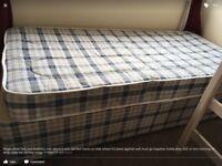 Single divan bed free