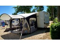 Caravan Kampa Fiesta 420 Air Awning with canopy New 2017, used once.