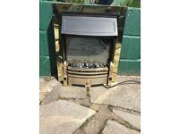 Dimplex coal effect electric fire.