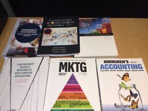 Georgian 1st year business books