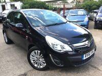 Vauxhall Corsa 1.0I 12V ECOFLEX EXCITE (black) 2011