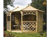 Brand new in crate Sandringham wooden gazebo