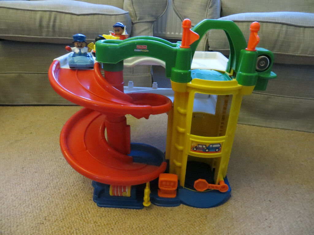 Fisher price little people racin 39 ramps garage in oxford - Fisher price little people racin ramps garage ...