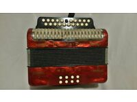 Hohner Double Ray Black Dot Accordion - For Sale