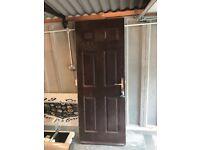 For Sale Upvc composite door (Back Door) Brown Color