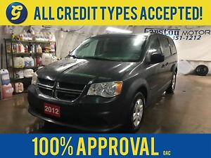 2012 Dodge Grand Caravan SXT*DUAL ROW STOW N GO*ROOF RAILS*POWER