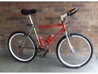 "Mountain bike: Carrera Vulcan Gents 21"" frame 21 speed, 26inch wheels"