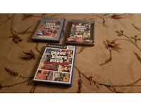 Playstation 2 Games - Grand Theft Auto Bundle