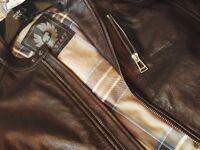 Brand New Mens Belstaff Black Leather Jacket