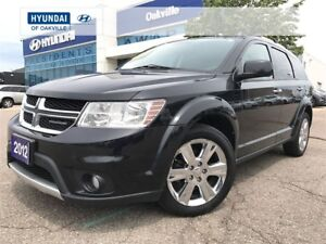 2012 Dodge Journey R/T | AWD | 7 PASS | LEATHER | ROOF | 1 OWNER