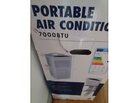 Portable Air Conditioner 7000 btu