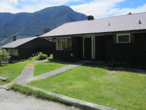 oceanfront, remote and beautiful central coast of bc