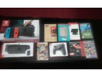 Nintendo Switch + Everything you need
