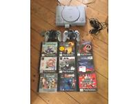 PlayStation 1 ps1 bundle with games