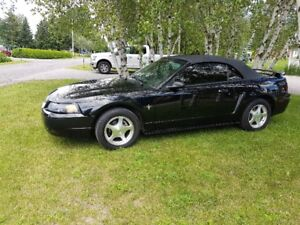 2001 Ford Mustang cuir Cabriolet