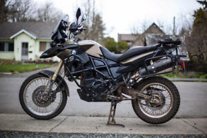 2013 BMW f800gs - $8000 in extras!
