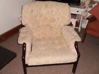 2 very comfy, vgc chairs, upholstered last year , from non smoking home.