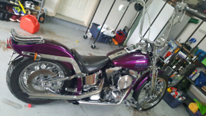 SOLD///HD 1993 softail Springer for sale